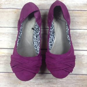 Cato size 9M fits like 8.5 purple ballet flats